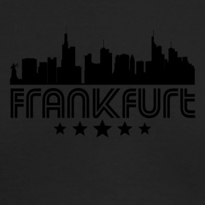 Retro Frankfurt Skyline - Men's Long Sleeve T-Shirt by Next Level