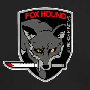 Fox Hound - Men's Long Sleeve T-Shirt by Next Level