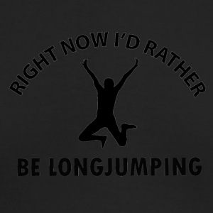 long jump designs - Men's Long Sleeve T-Shirt by Next Level