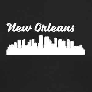 New Orleans LA Skyline - Men's Long Sleeve T-Shirt by Next Level