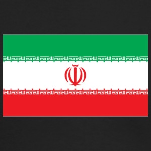 Iran flag - Men's Long Sleeve T-Shirt by Next Level