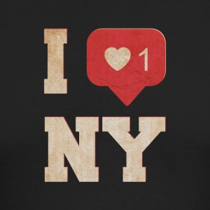 I love new york - Men's Long Sleeve T-Shirt by Next Level