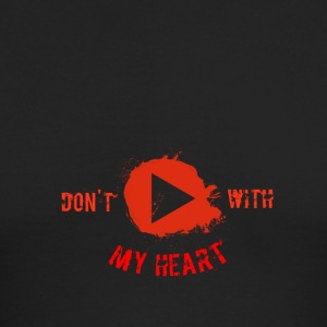 Don't Play With My Heart - Men's Long Sleeve T-Shirt by Next Level