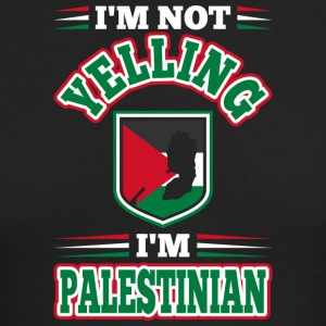 Im Not Yelling Im Palestinian - Men's Long Sleeve T-Shirt by Next Level