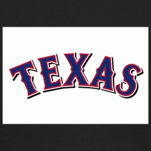 Texas Rangers 1 - Men's Long Sleeve T-Shirt by Next Level
