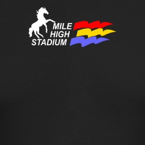 Mile High Stadium - Men's Long Sleeve T-Shirt by Next Level