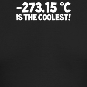 Temperature 273 15 is the Coolest - Men's Long Sleeve T-Shirt by Next Level