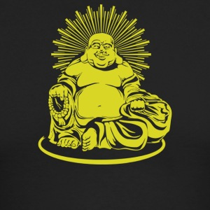 Happy Buddha - Men's Long Sleeve T-Shirt by Next Level