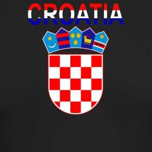 Croatia Coat Of Arms - Men's Long Sleeve T-Shirt by Next Level