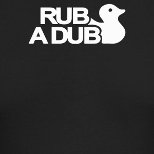 Rub a Dub - Men's Long Sleeve T-Shirt by Next Level