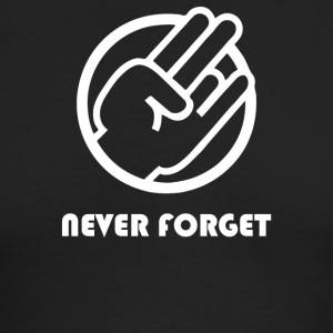 Never Forget - Men's Long Sleeve T-Shirt by Next Level