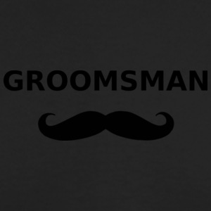 groomsman - Men's Long Sleeve T-Shirt by Next Level