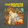 Alphonse Mucha - Cycles Perfecta - Men's Fine Jersey T-Shirt