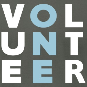 Volunteer ONE - Men's T-Shirt by American Apparel
