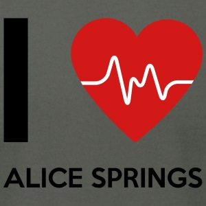 I Love Alice Springs - Men's T-Shirt by American Apparel