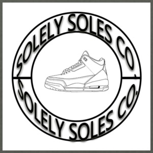 Solely Soles Circle Logo - Men's T-Shirt by American Apparel