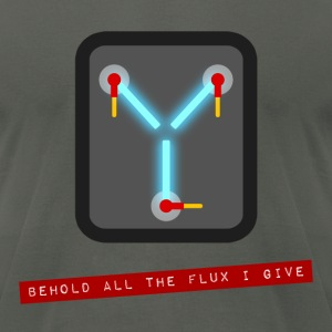 """Behold all the Flux I Give"" Design"