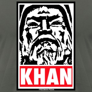 Obedient Khan - Men's T-Shirt by American Apparel