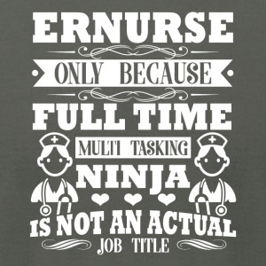 Awesome Tee For Er Nurse Shirt - Men's T-Shirt by American Apparel