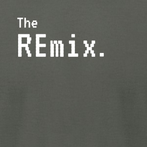 The Remix - The Original Funny Matching - Men's T-Shirt by American Apparel