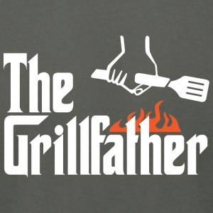 The Grillfather - Men's T-Shirt by American Apparel