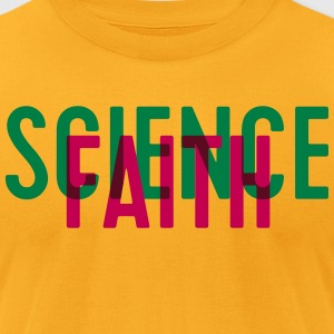 Science or faith? - Men's T-Shirt by American Apparel