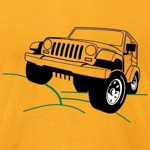 Jeep - Men's T-Shirt by American Apparel