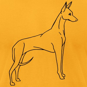 guard dog - Men's T-Shirt by American Apparel