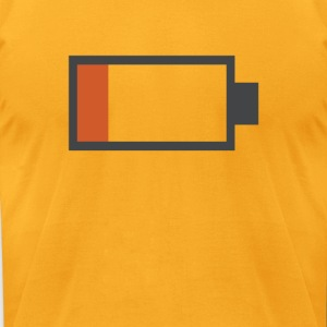 Low Battery Shirt - Men's T-Shirt by American Apparel