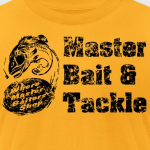 Master Bait & Tackle - Men's T-Shirt by American Apparel