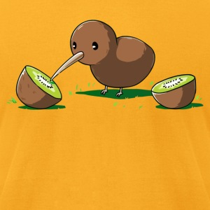 Kiwi Cannibal - Men's T-Shirt by American Apparel