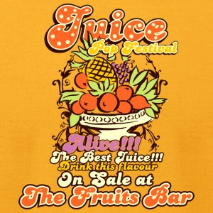 Juice top festival - Men's T-Shirt by American Apparel