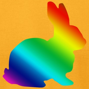 LGBT Rabbit - Men's T-Shirt by American Apparel