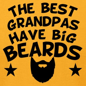 The Best Grandpas Have Big Beards - Men's T-Shirt by American Apparel