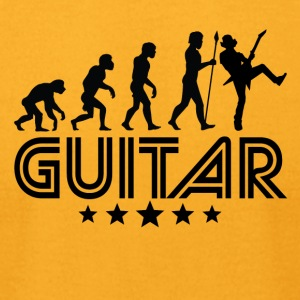 Retro Guitar Evolution - Men's T-Shirt by American Apparel