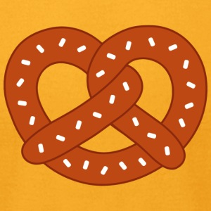 Pretzel Brown - Men's T-Shirt by American Apparel