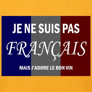 Je Ne Suis Pas Francais - Men's T-Shirt by American Apparel