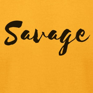 Savage - Men's T-Shirt by American Apparel