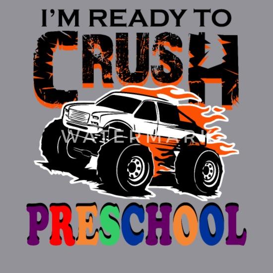 Back to School Youth Fleece Crewneck Sweater Im Ready to Crush 2nd Grade Pink, Medium