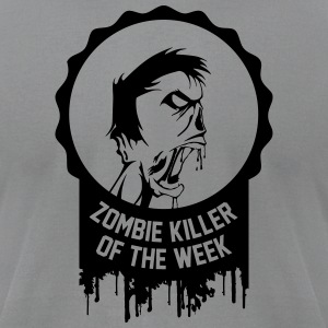 Zombie killer of the week award - Men's T-Shirt by American Apparel