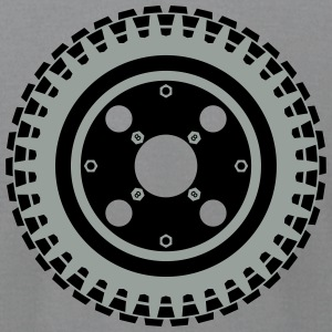 Z50 Wheel (Sixties and Seventies) - Men's T-Shirt by American Apparel