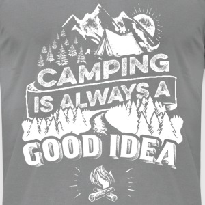 Camping - Men's T-Shirt by American Apparel