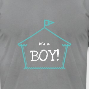 It's A Boy Statement Design Cute Novelty Apparel - Men's T-Shirt by American Apparel