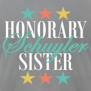 Honorary Schuyler Sister (Eliza) - Men's T-Shirt by American Apparel