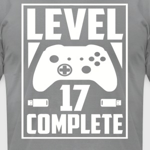 Level 17 Complete - Men's T-Shirt by American Apparel