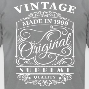 Vintage Made in 1999 Original - Men's T-Shirt by American Apparel