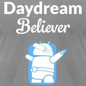 Daydream Believer - Android VR Robot - Men's T-Shirt by American Apparel