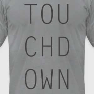 Touch Down - Men's T-Shirt by American Apparel