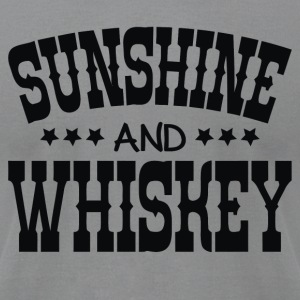 Sunshine and Whiskey - Men's T-Shirt by American Apparel