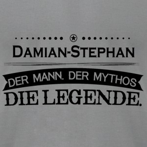 Mythos Legende Vorname Damian Stephan - Men's T-Shirt by American Apparel